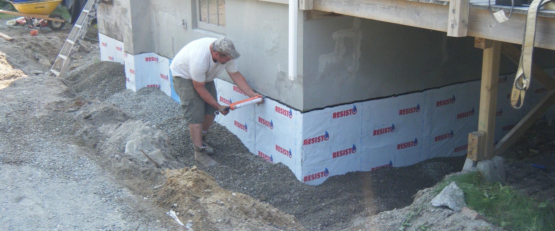 waterproofing home